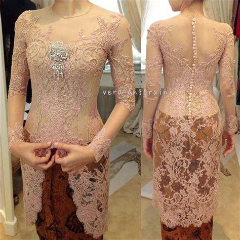 model kebaya pengantin modern 2015 on pinterest kebaya models and 40 gambar model kebaya wisuda modern lengan panjang dan