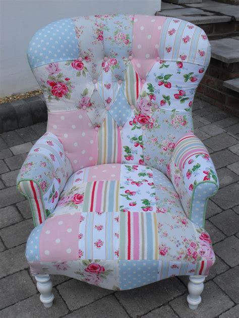 Cath Kidston Armchair by And Sophisticated A Unique Patchwork Chair Using