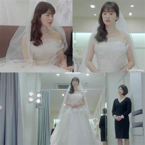 Wedding Song Hye Kyo by Song Hye Kyo Looks Stunning In A Wedding Dress K Drama Amino