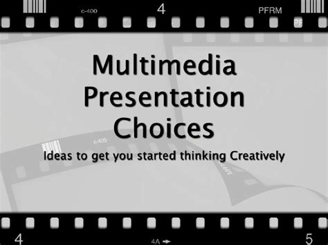 themes for multimedia presentation multimedia project choices