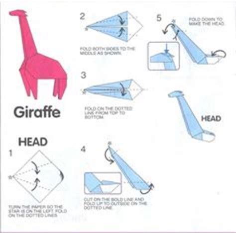 How To Make Origami Giraffe - the world s catalog of ideas