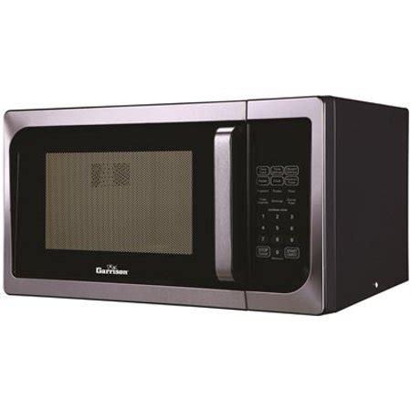 Walmart Countertop Microwave Ovens by Garrison 0 9 Cu Ft Countertop Microwave Oven Stainless