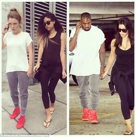 kim kardashian yeezy halloween costume kim kardashian and kanye west fans post nearly identical
