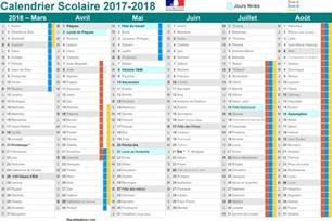 Dates Vacances Scolaires 2018 Vacances Scolaires 2017 Et 2018 Calendrier 224 Imprimer