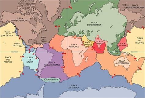 foto de las placas tectonicas 191 cu 225 ntas placas tect 243 nicas existen batanga