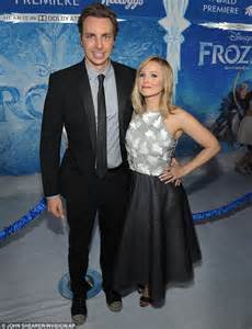 kristen bell husband kristen bell shows off her amazing post baby body in black