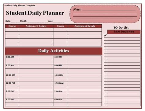 free printable planners for college students 49 best images about planners on pinterest menu planners