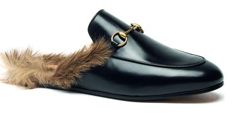 furry house slippers gucci kangaroo fur shoe gucci fur slipper
