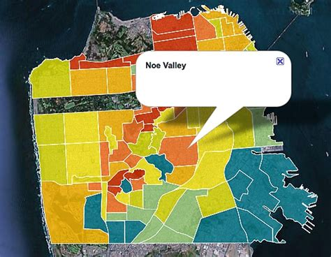 san francisco map noe valley noe valley san francisco ca 94114 neighborhood snapshot