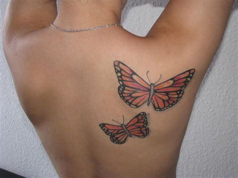 small butterfly tattoos on back butterfly www pixshark images