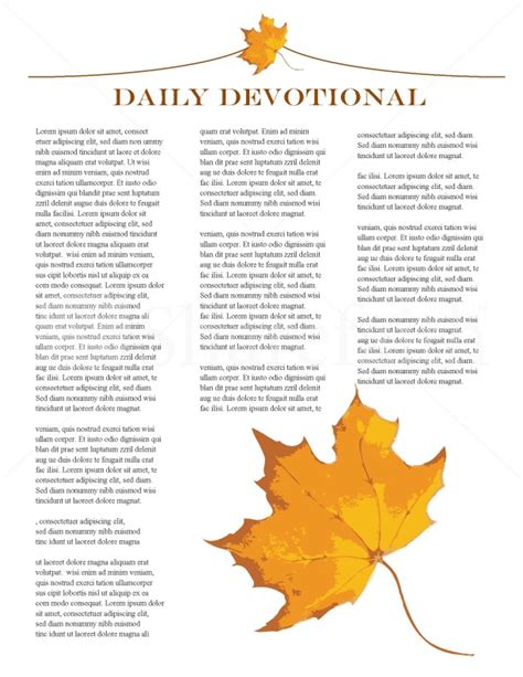 fall missionary update newsletter template newsletter