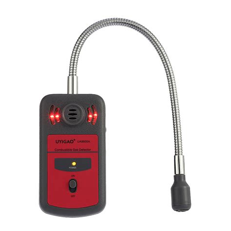 Alarm Gas Detector uyigao combustible gas monitor automotive gas leak detector gas location determine tester gas