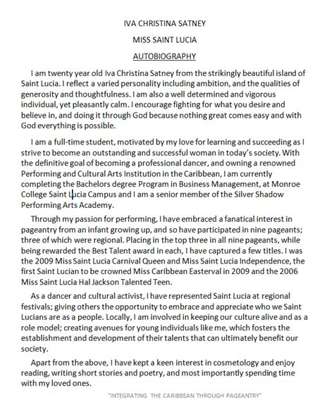 Exles Of An Autobiography Essay by 45 Biography Templates Exles Personal Professional