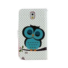 Standing Notes Owl cool 3d iron soft skin cover for samsung galaxy note 3 iii it is