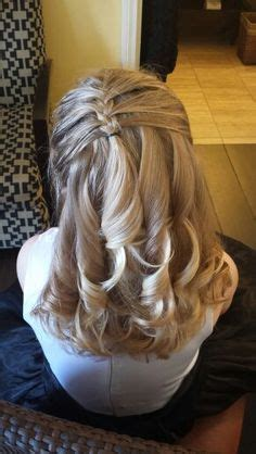 father daughter dance hairstyles for girls 1000 images about communion hair styles on pinterest