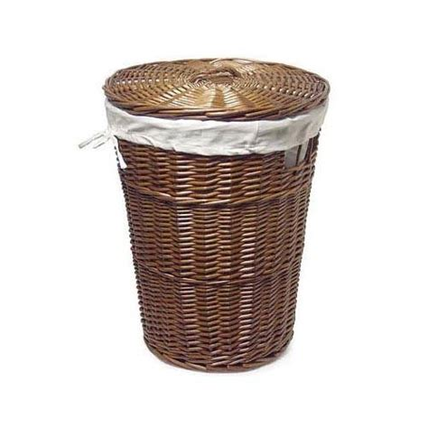 Wicker Laundry Baskets With Lids Solemio Wicker Laundry Hers With Lids