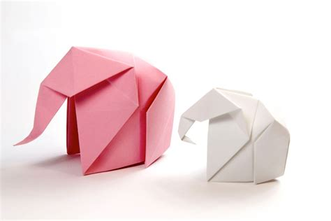 Make Paper Elephant - how to make an origami elephant