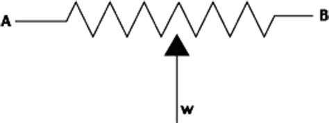 symbol for variable resistor wiring a variable resistor wiring free engine image for user manual