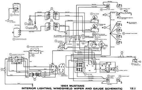 65 mustang ignition switch wiring diagram ignition