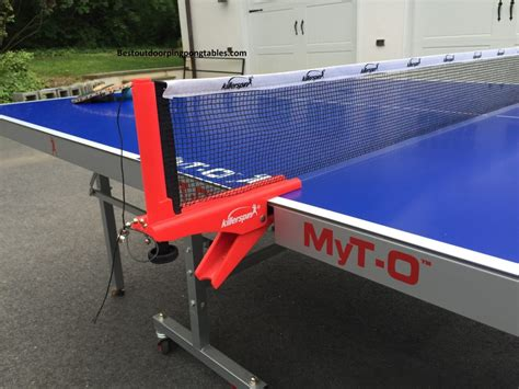 killerspin ping pong table killerspin myt o outdoor table review
