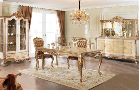 Turkish Dining Room Furniture by Begonya Classic Dining Room Set