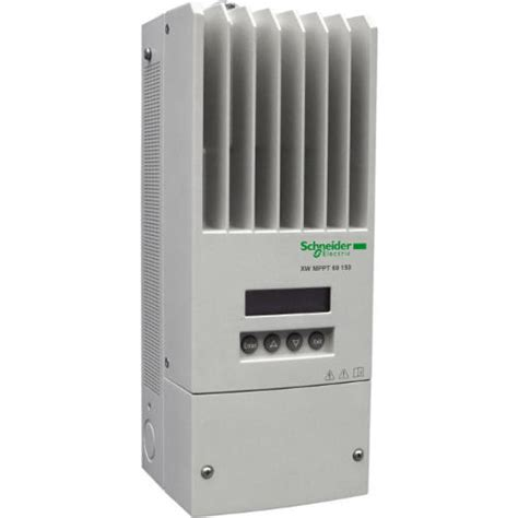 schneider electric solar l conext xw mppt 60 amp solar charge controller