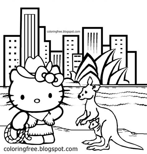 hello kitty cowgirl coloring pages free coloring pages printable pictures to color kids