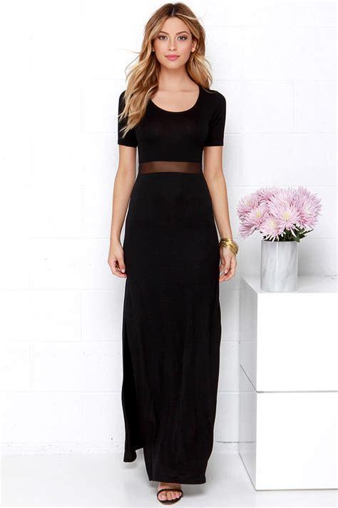 Livi Maxy Dress black dress maxi dress mesh dress 48 00