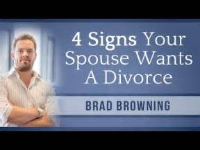 signs your spouse wants a divorce and how to stop it