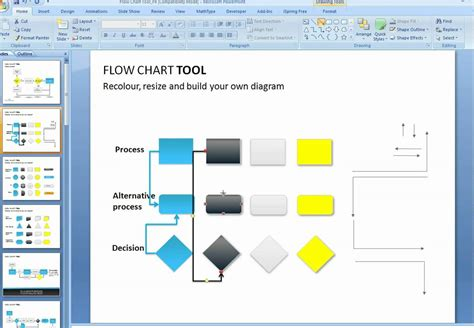 design template flow powerpoint how to make a flow chart in powerpoint jipsportsbj info