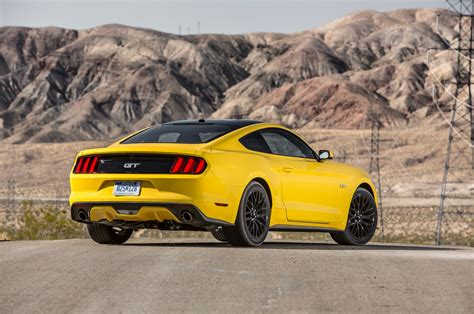 Ford Mustang by 2016 Ford Mustang Gt Test Review Motor Trend