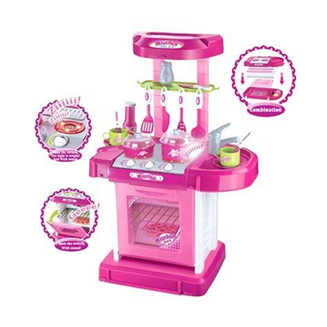 Kitchen Koper Pink Best Seller jual rekomendasi seller mao kitchen set koper pink mainan anak harga kualitas