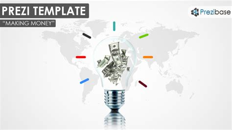 Making Money Prezi Presentation Template Creatoz Collection Prezi Pitch Templates