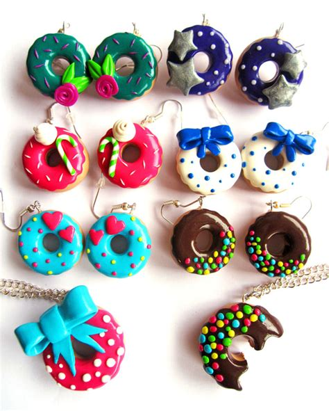 Fimo Meme - bijou fimo donuts