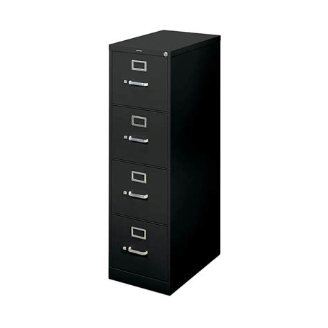 basyx by hon h410 series 4 drawer vertical file cabinet
