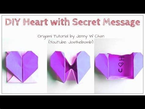 valentine origami tutorial lovers ring 25 best ideas about origami hearts on pinterest origami