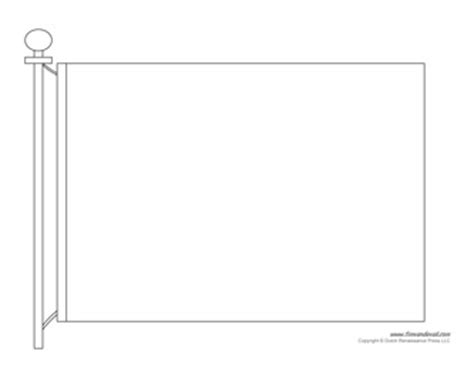 flag to colour template blank flag template printable make your own flag