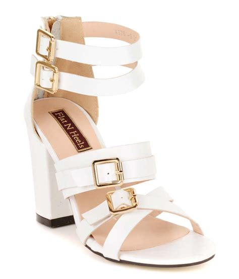 flat high heel sandals flat n heels white faux leather open toe high heel sandals
