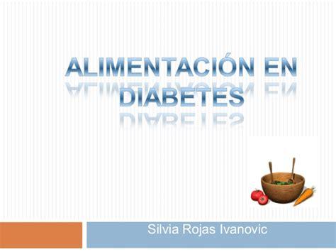 alimentacion en la diabetes