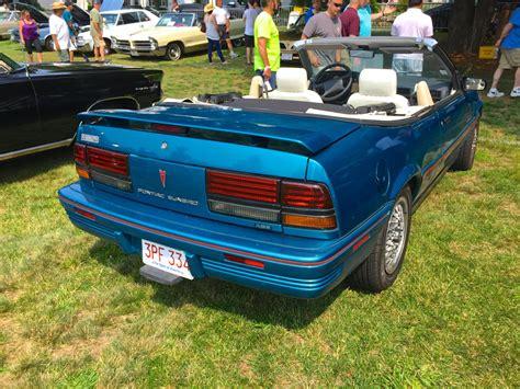 1992 pontiac sunbird car show classic 1992 pontiac sunbird se convertible