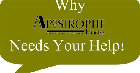 stay open follow your books apostrophe books needs your help to stay open indiegogo