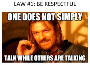 Class Rules Memes - classroom rules via memes classcbell