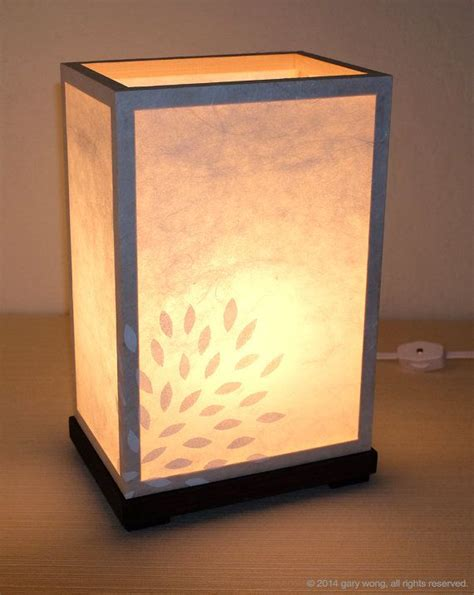 Handmade Paper Light Ls - rice paper l handmade l table l rice by