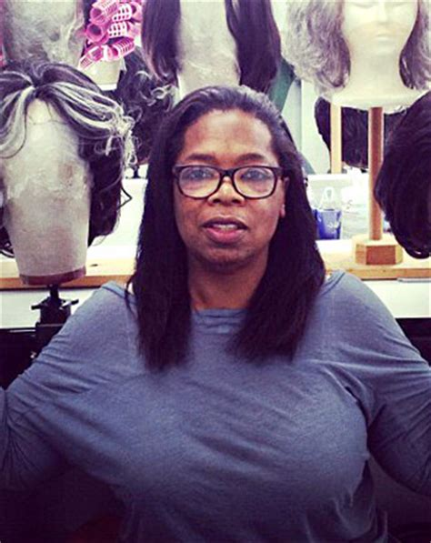 would you recognize oprah winfrey without wig and