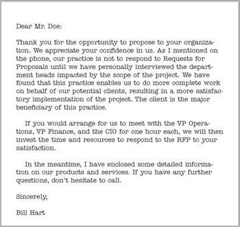 cover letter for rfp response targer golden dragon co