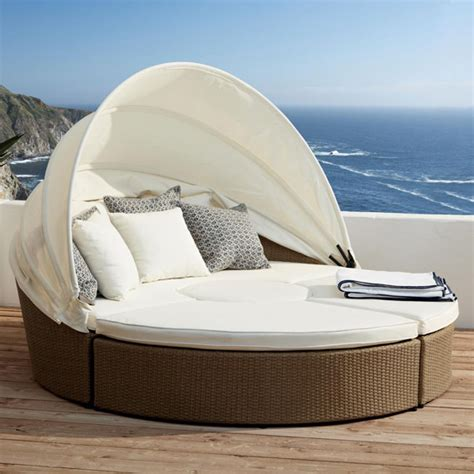 outdoor furniture day bed big sur outdoor day bed set rattan oka