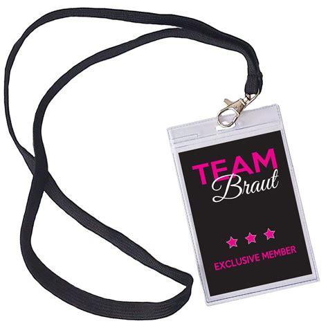 braut challenge jga ausweis quot team braut quot vip pass junggesellinnenabschied
