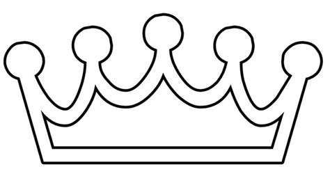 printable image of a crown princess crown printable coloring pages castles and