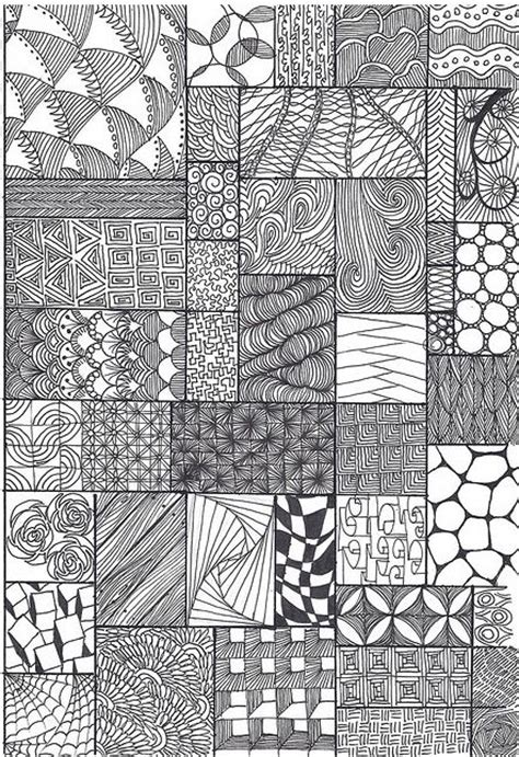 zentangle pattern sheet zentangle pattern sheet finishes pinterest patterns