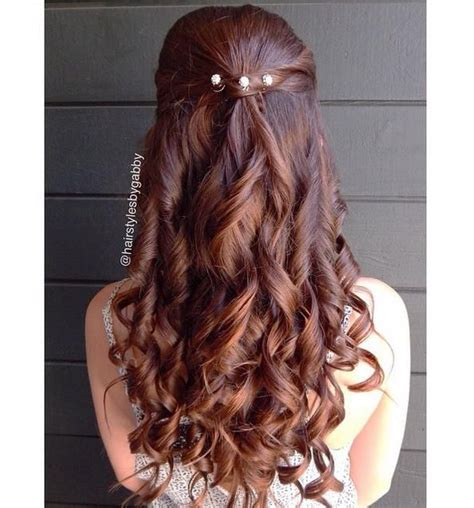 Bridesmaid Hair Half Up Curls by 17 Best Images About Hair On Updo Hair